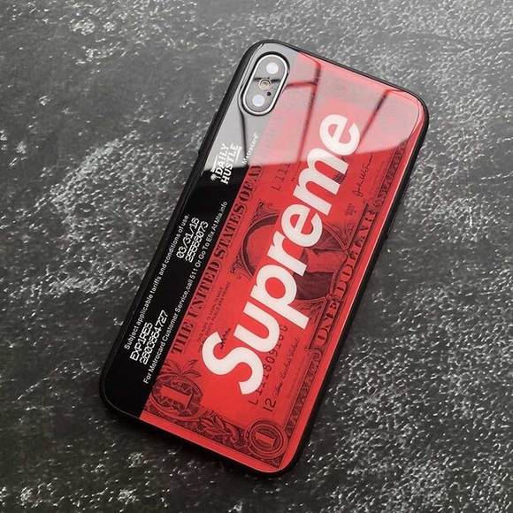 new style aa265 c83e4 NEW! Supreme iPhone X case iPhone xs max case Boutique